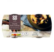 Co Op Bread and Butter Pudding