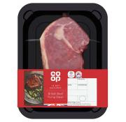 Co Op 14 Day Matured British Beef Rump Steak