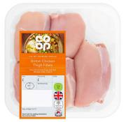 Co Op British Chicken Thigh Fillets