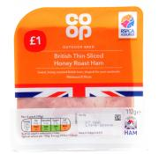 Co Op Thin Sliced Honey Roast Ham