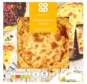 Co Op Ready to Eat Quiche Cheese and Onion