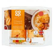 Co Op Cheese and Onion Rolls