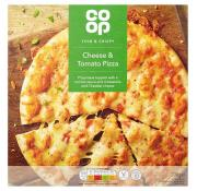 Co Op Cheese and Tomato Pizza