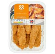 Co Op Breaded Chicken Goujons