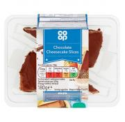 Co Op Chocolate Cheesecake Slices