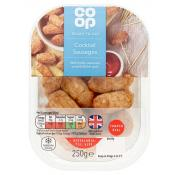 Co Op British Cocktail Sausage