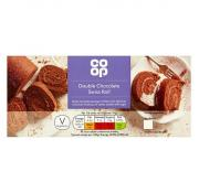 Co Op Double Chocolate Swiss Roll
