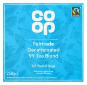 Co Op Fairtrade Decaffeinated 99 Tea Blend