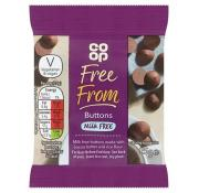 Co Op Free From Chocolate Buttons
