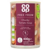 Co Op Free From Chunky Tomato Soup