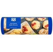 Co Op High Bake Water Biscuits