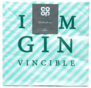 Co Op Napkins Gin