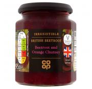 Co Op Irresistible Beetroot and Orange Chutney