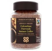 Co Op Irresistible Fairtrade Colombian Instant Coffee