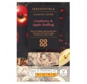 Co Op Irresistible Cranberry and Apple Stuffing