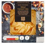 Co Op Irresistible Salted Caramel Cake