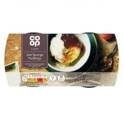 Co Op Jam Sponge Puddings
