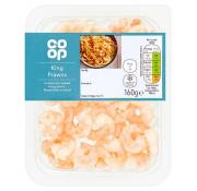 Co Op Cooked King Prawns