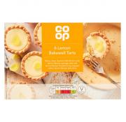 Co Op 6 Lemon Bakewell Tarts