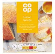 Co Op Lemon Sponge Cake