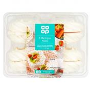 Co Op Meringue Nests