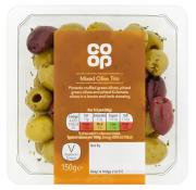 Co Op Mixed Olive Trio