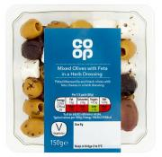 Co Op Mixed Olives with Feta