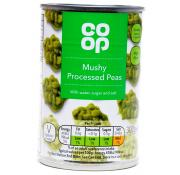Co Op Mushy Processed Peas