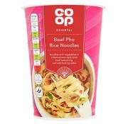 Co Op Oriental Beef Pho Rice Noodles