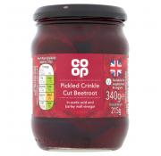 Co Op Pickled Crinkle Cut Beetroot