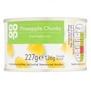 Co Op Pineapple Chunks In Juice