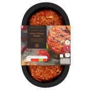 Co Op Irresistible Pork and Chorizo Burgers