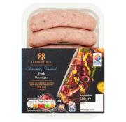Co Op Irresistible Pork Sausages