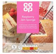 Co Op Raspberry Jam Sponge