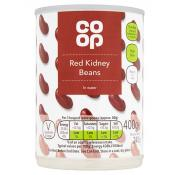 Co Op Red Kidney Beans In Water