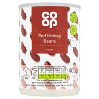 Co Op Red Kidney Beans In Water image