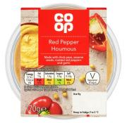 Co Op Red Pepper Houmous