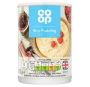 Co Op Rice Pudding