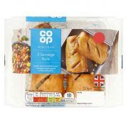 Co Op Ready To Eat 2 Sausage Rolls