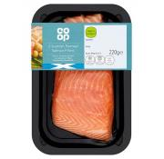Co Op 2 Scottish Farmed Salmon Fillets