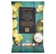 Co Op Irresistible Sea Salt and Chardonnay Vinegar Crisps