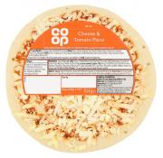 Co Op Snack Cheese and Tomato Pizza