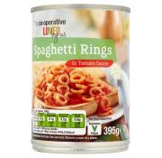 Co Op Spaghetti Rings In Tomato Sauce