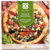 Co Op Spinach and Ricotta Pizza