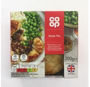 Co Op Steak Pie