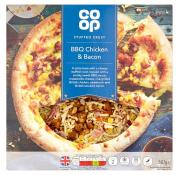Co Op Stuffed Crust BBQ Chicken Pizza