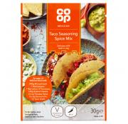 Co Op Taco Seasoning Spice Mix