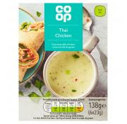 Co Op Thai Chicken Cup Soup