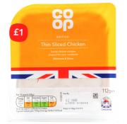 Co Op Thin Sliced Chicken