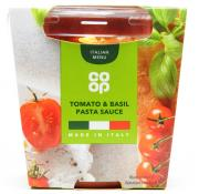 Co Op Tomato and Basil Pasta Sauce